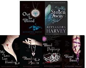 Alyxandra Harvey Drake Chronicles collection 7 Books set, (Blood Moon, Blood Feud, Out for Blood, Bleeding Hearts, My love lies Bleeding, Blood Prophecy & Stolen Away)