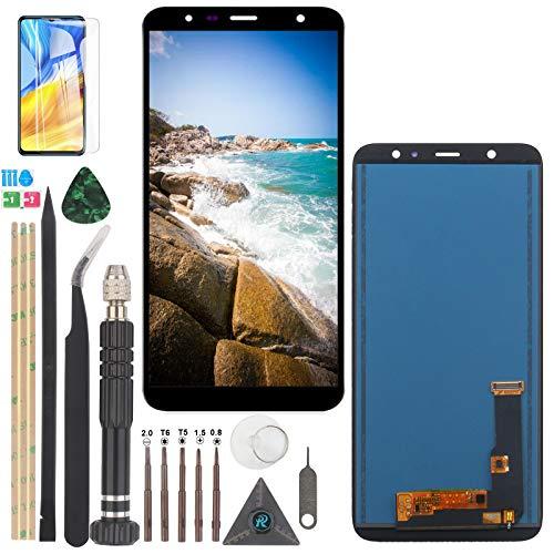 RongZy Schermo LCD per Samsung Galaxy A6 Plus 2018 A605 Display Touch Screen Digitizer Parti di Ricambio di Riparazione con Strumenti(Nero)