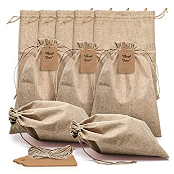 Best large drawstring gift bags Reviews
