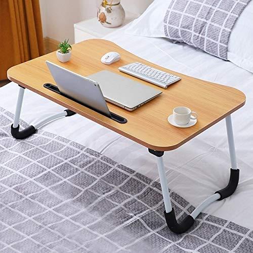 ZJN-JN Mesa Multi Funcional ergonómico Soporte de Mesa portátil móvil for el sofá-Cama portátil Mesa Plegable portátil portátil de Escritorio (Color : Khaki)