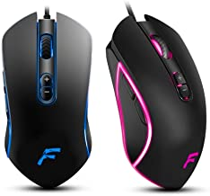 Frostware A6 Wired Gaming Mouse for PC and Mac