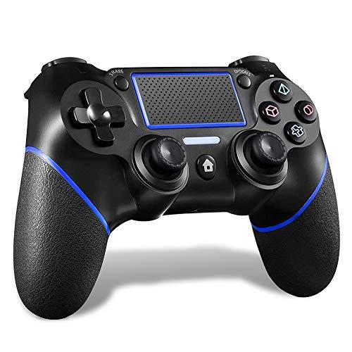 MAXKU PS4 コントローラー [2020最新版] 無線 Bluetooth接続 HD振動 連射 ジャイロセンサー ゲームパット搭載 高耐久ボタン イヤホンジャック スピーカー PS4pro/slim/WIN 7/8/10 対応ps4 ゲームパッド PCゲーム playstation