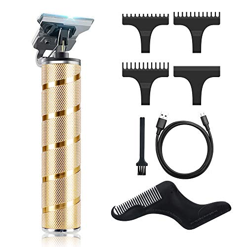 Hair Clippers for Men, Beauhy 2 in 1 Hair Trimmer, Cordless Electric Pro Li T-Liner Clippers for Hair Cutting, 0mm Baldheaded Hair Clippers