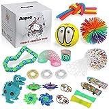 Anpro 24pcs Kit de Juguetes Antiestrés,Libera Estrés y Ansiedad para Adultos,Regalos en Navidad, Fiesta de Cumpleaños
