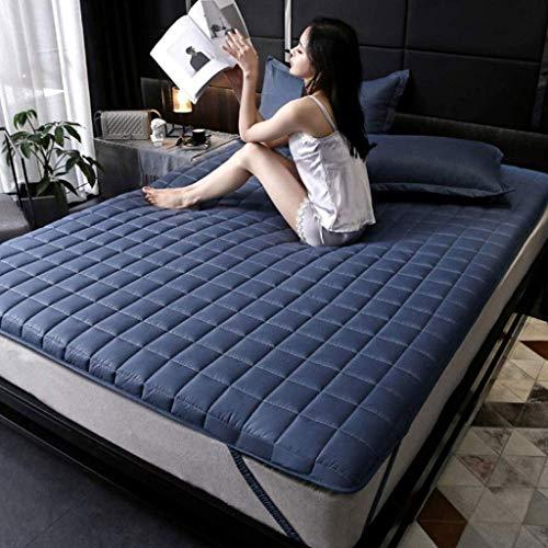 GONGFF Floor Tatami Futon Mattress, Overfill Ultra Soft Waterproof Quilted Mattress Bed Folding Anti-Slip Mat Sleep Twin Size (Size : 120x200cm(47x79inch))