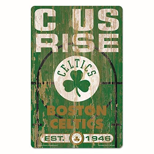 Wincraft Boston Celtics 11x17 Wood Sign