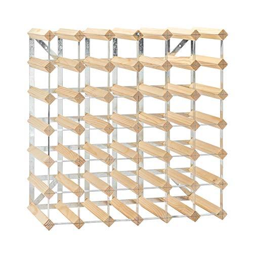 Lot de 20 cintres en bois - noir- entièrement assemblé - bois clair