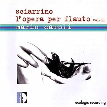 Sciarrino: L'opera per flauto, Vol. 2