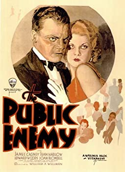 The Public Enemy Movie Poster  11 x 17 Inches - 28cm x 44cm   1931  Style A - James Cagney  Edward  Eddie  Woods  Leslie Fenton  Joan Blondell  Mae Clarke  Jean Harlow