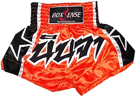 Boxsense Muay Thai Box Hose, Thaishort Thaiboxhosen Kids   Größe 3S (21- 24 )   BXSKID-001 B008MT7HZW   | König der Quantität
