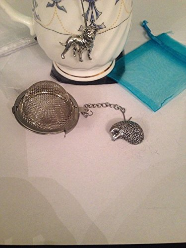 Hedgehog 5,1 cm Tea Ball mesh infusore in acciaio INOX sfera colino A16