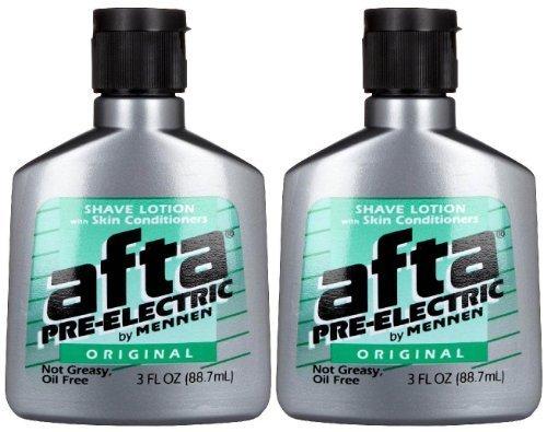 Skin Bracer by Mennen Afta Pre-Electric Shave Lotion - 3 oz - 2 pk by Skin Bracer by Mennen