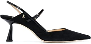 Luxury Fashion | Jimmy Choo Women RAY65SPTBLACKBLACK Black Leather Heels | Autumn-winter 20