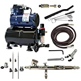 Paasche Airbrush Double Action Gravity Feed RG Airbrush Kit