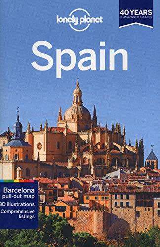 Lonely Planet Spain [Lingua Inglese]