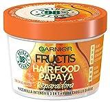 Garnier Fructis Hair Food Mascarilla de Papaya Reparadora para Pelo Dañado - 390 ml...