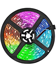 ELEAD Smart WiFi LED شريط ضوء 5 أمتار 300 LED RGB لون الهاتف الذكي APP التحكم في المنزل ديكور DIY أضواء ملونة تلفزيون خلفية حبل إضاءة شرائط للمطبخ غرفة النوم غرفة المعيشة حديقة