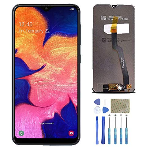 ASNNY Display LCD per Samsung Galaxy A10 Sostituzione Vetro 3D Schermo Chiave con Kit di Riparazione Completo Kit Nero