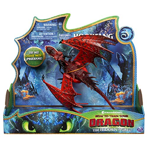Dreamworks Dragons 6052260 Deluxe Dragon Hookfang, bunt