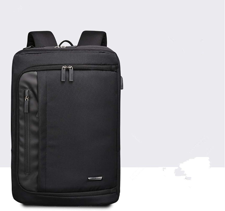 DDPP Professioneller Ultradünner Laptop-Rucksack, Business-Rucksack, Lssiger Rucksack, Umhngetasche mit USB-Anschluss,2