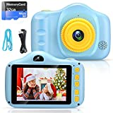 voltenick kids camera toy kids digital camera for Boys ,3.5Inch 32GB TF card