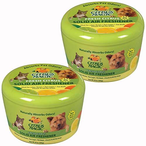 Citrus Magic Pet Odor Absorbing Solid Air...