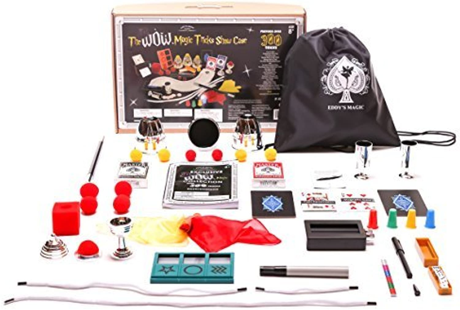 Exclusive WOW Master Magician 300 Trick Set by MMP Living