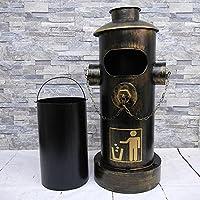 【WNJAPAN】 アメリカンレトロ 消火栓 ゴミ箱 ダストボックス ダストビン 26L インテリア アメリカン雑貨 ブリキ ヴィンテージ BZ-140BG