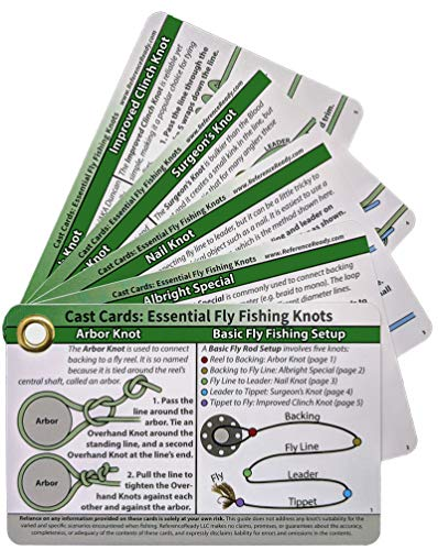 ReferenceReady Fly Fishing Knot Cards