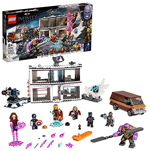 LEGO Super Heroes Marvel Avengers: Endgame, la Battaglia Finale, Set per Bambini di 8 Anni con Thanos e 6 minifigure, 76192