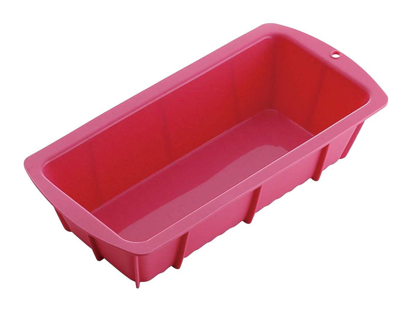 アパートマラウイ悲しい青芳 ケーキ型 ピンク 25.6×12.5×6cm