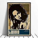 wopiaol Kein Rahmen Lauryn Hill Musik Sänger Poster Rap