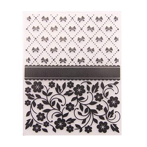 Artibetter Carpeta de grabación en relieve Plantillas de plástico Moldes Herramientas para manualidades Scrapbooking