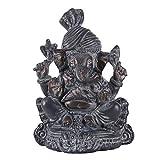 Seyee-bro Elephant Buddha Ganesh Sculpture - Hindu God Lord Ganesha Idol Statue - Hindu Home Mandir Diwali Decoration