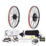 Rueda de motor para bicicleta eléctrica 36 V, 250 W, 350 W, 500 W, 48 V, 1000 W, 1500 W, kit de conversión para bicicleta (color: 36 V350 W, 28 29 pulgadas, 700 C, tamaño: gratis) JoinBuy.R
