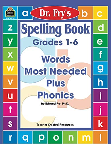 Compare Textbook Prices for Spelling Book: Words Most Needed Plus Phonics by Dr. Fry Reprint Edition ISBN 0014467027500 by Fry, Edward