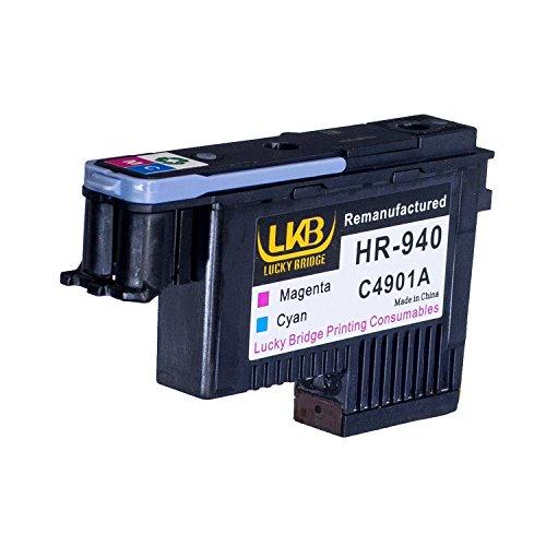 Lucky Brücke HP940Druckkopf 1magenta und cyan C4901A wiederaufbereitete kompatible für HP Officejet mit Pro 800085008500A 8500A Plus 8500A Premium