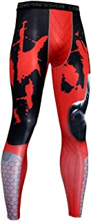 NATURET Compression Pants Baselayer Running Tights Mens Sports Cool Dry Leggings