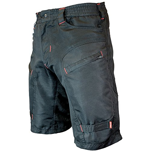 THE SINGLE TRACKER-Mountain Bike Cargo Shorts, Without Padded Undershorts, X-Large 35-37""