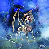 Fun Express Large Dragon Skeleton (4 feet Long) Halloween Decorations