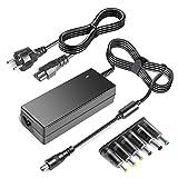 TAIFU Alimentatore universale da 48V 1A 1.25A 1.75A 1.88A Per PoE Switch Injector LED Strip CCTV Display Telefono IP Cisco Polycom+6 Convertitore 5.5x2.5/4.0x1.7/4.8x1.7/6, 5x4,4/6,5x3,0/5,5x3,0mm