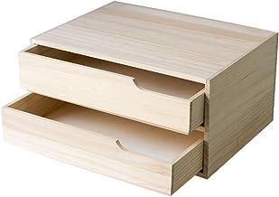 LHQ-HQ Kids Book Shelf Massief hout plank desktop opbergdoos boekenkast dubbele lade office-bestand multifunctionele opber...