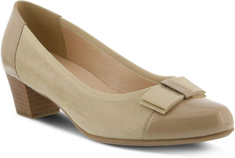 Spring Step Women's Faith shoes   color Beige  Leather shoes