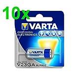 Varta V23GA/MN21/8LR932 LR23A piles alcaline 12 V Lot de 10
