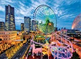 Puzzle Jigsaw Adult and Child Jigsaw Puzzles Dreamland Ferris Wheel Adult 1000 Pieces Paper Landscape Puzzles Game Educational Toys Art Home Decor Home Games
