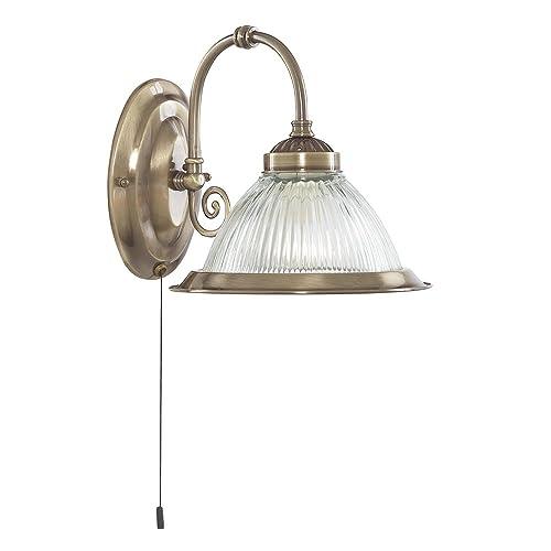SEARCHLIGHT OLIVIA MODERN 2 LIGHT WALL FITTING IN COPPER FINISH 1062-2CU