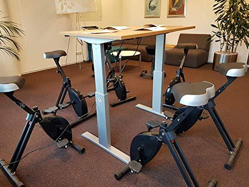 Das Desk Bike im Einsatz im Büro