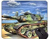 Yanteng Gaming Mouse Pad Custom, Gun Cleaning Mat Tank Office Mouse Pad