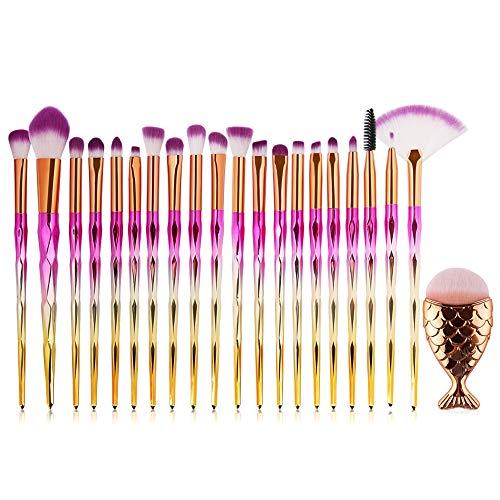 Maquillage pinceau, mode Tonsee exquis 21 PCS Make Up Foundation sourcils Eyeliner Blush Cosmétique Correcteur Brosses