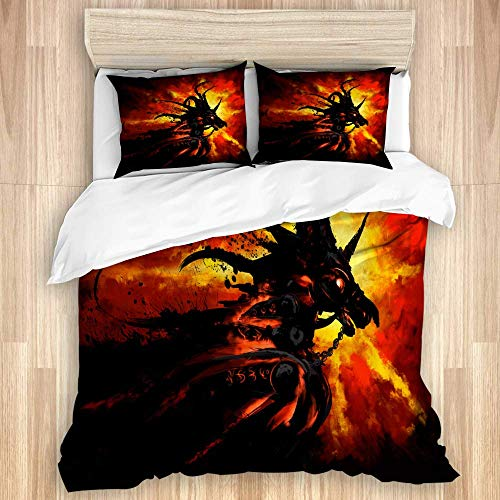 Decorative Duvet Cover Set,The Little boy and Brown Pelican Fly in The Sky,Lightweight Personalized Bedding Sheet Set,3 Piece